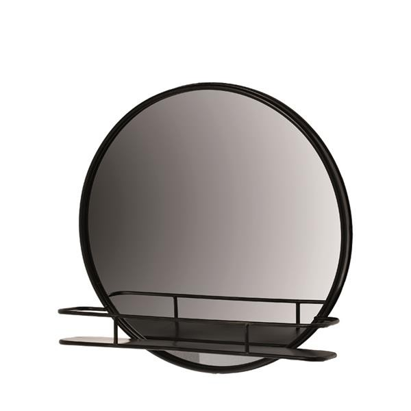 Spiegel Pure grau Ø 62 cm