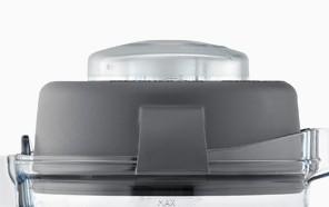 Deckel und Verschlußkappe für 1.4 L Tritan Behälter