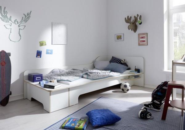 PLANE Einzelbett anthrazit