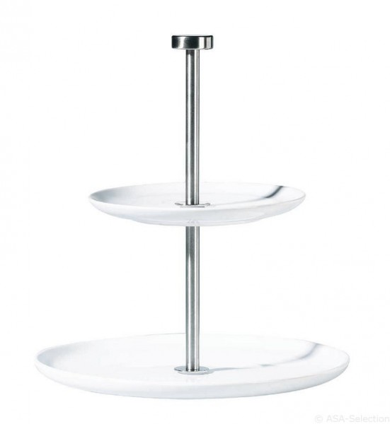 À table Etagere rund - h: 23,5cm
