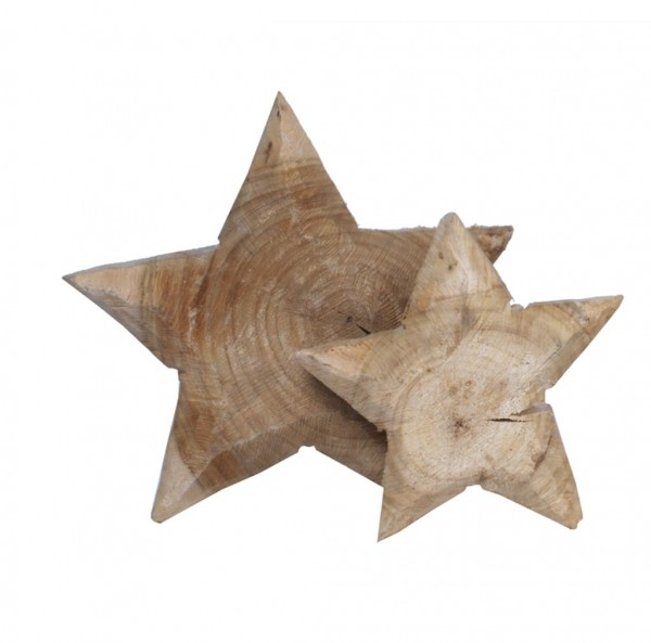 Holz Stern Pappel