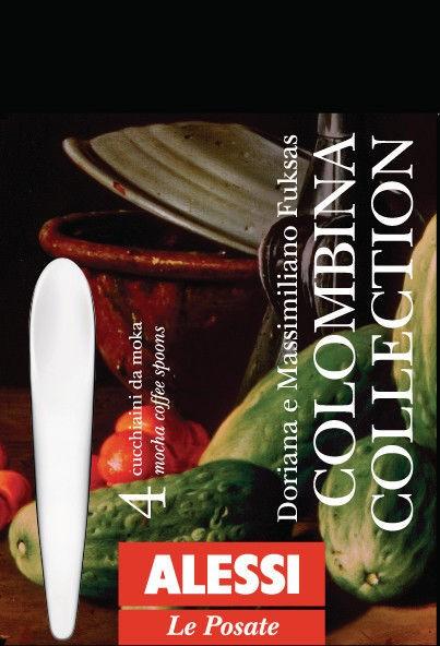 COLOMBINA - 4 Mokkalöffel
