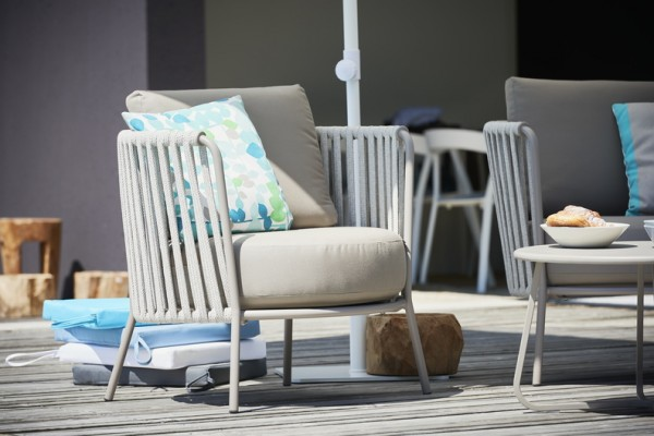 Outdoor Sessel Sunderland Rope taupe
