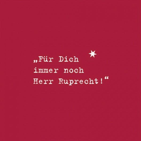 """Serviette """"Ruprecht!"""""""