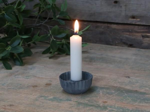 Kerzenhalter für Stabkerzen antik