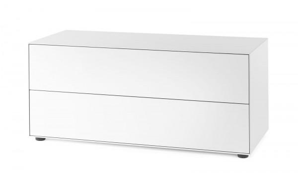Doppel-Schubkasten Element Nex Pur Box, B: 120 cm - H: 50 cm
