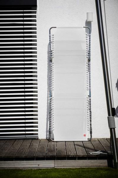 Fiam Amigo xxl - Dreibeinliege Weiß mit weißem Band Ausstellungsstück
