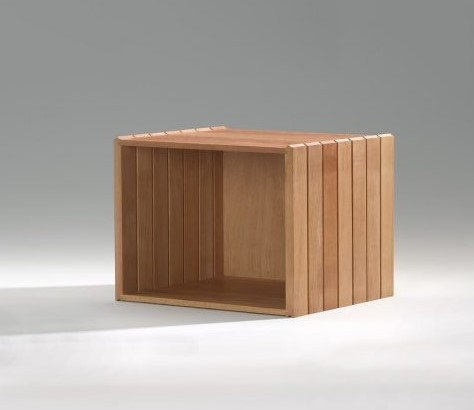 Halbe Stapelbox - Buche (Halbehöhe)