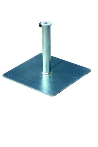 Schirmständer Stand Eisenplatte - 43x43 cm