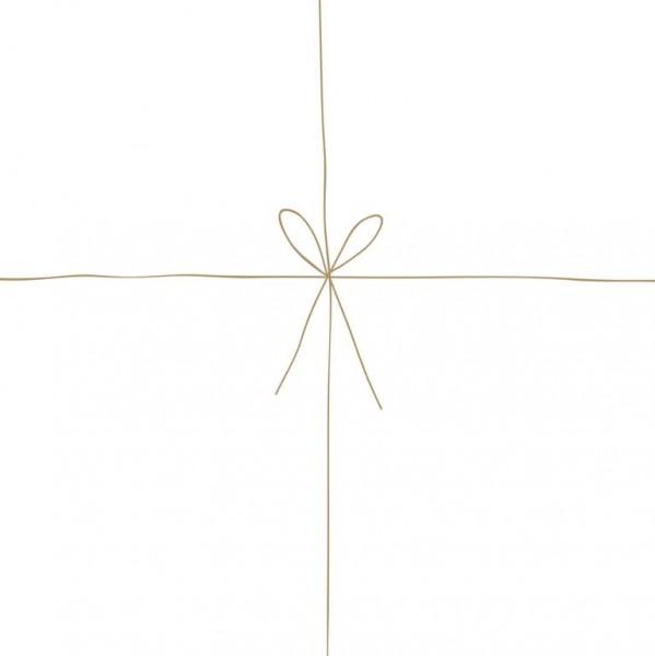 Geschenk Serviette 25 x 25 cm