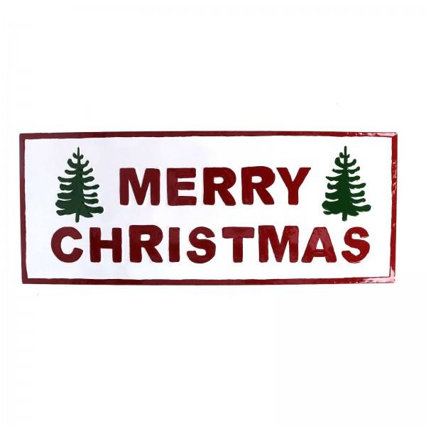 """Weihnachtsschild """"Merry Christmas"""""""