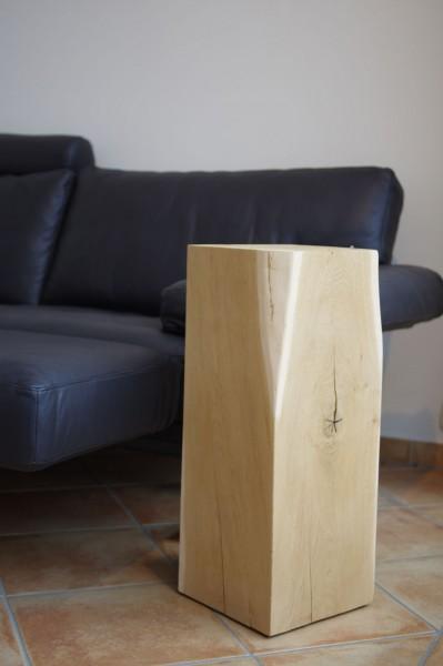 Holz-Säule Eiche 25 x 25 x 60cm
