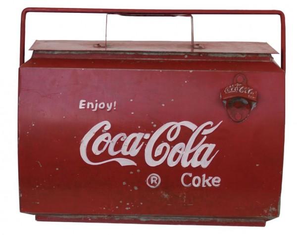 Coca Cola® Kühlbox 45x23x40 cm rot