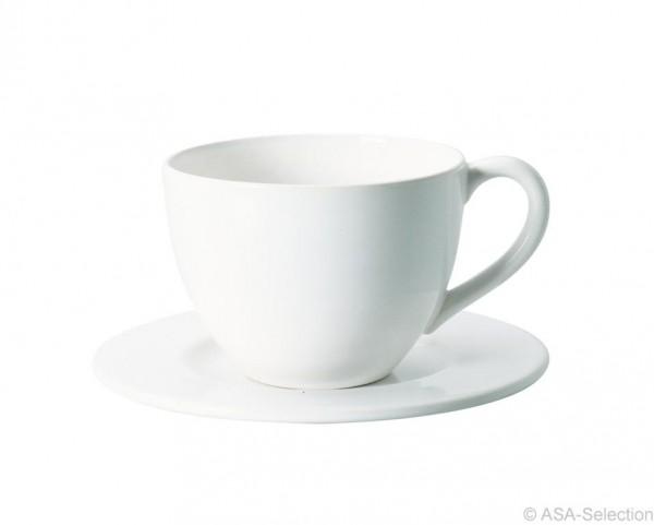 Tasse mit Untersetzer, Höhe 8 cm - 0,3 Liter