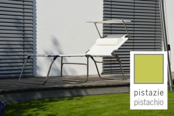 Fiam Amigo big fifty PISTAZIE - Dreibeinliege mit Sonnendach und Nackenrolle Ausstellungsstück