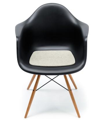 Sitzauflage aus Filz Eames Plastic Armchair