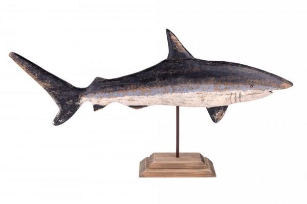 Dekofisch mit Metallfuß L