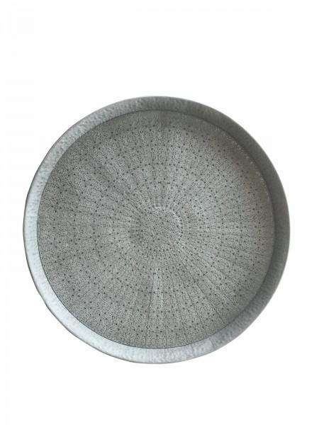 Tablett Bakke grau Ø 80 cm