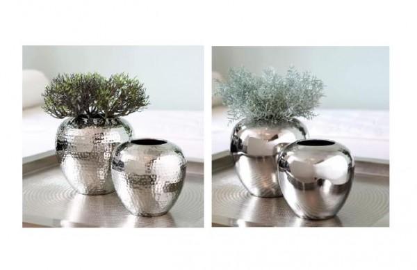LOSONE Vase silber