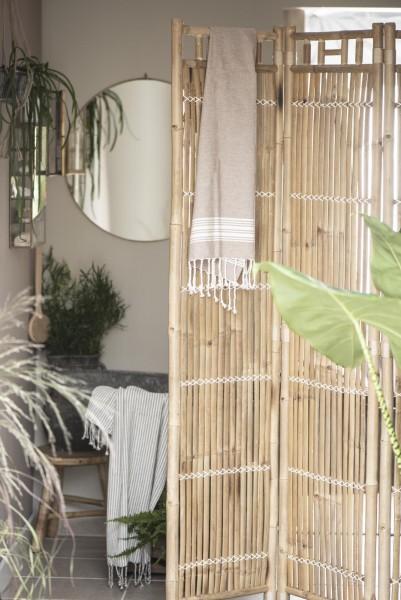 Paravent aus Bambus - 3-tlg.