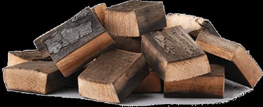 Holz-Räucherchunks, Whiskey-Eiche 1,5kg