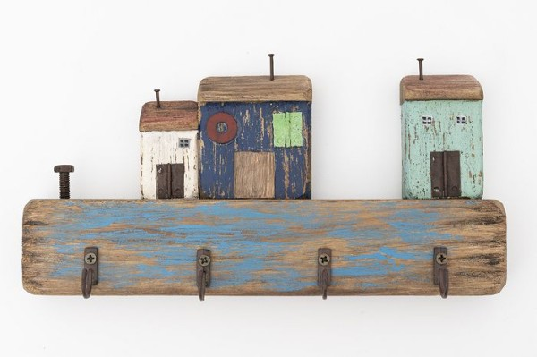 Schlüssellbrett Holz - Länge 25 cm
