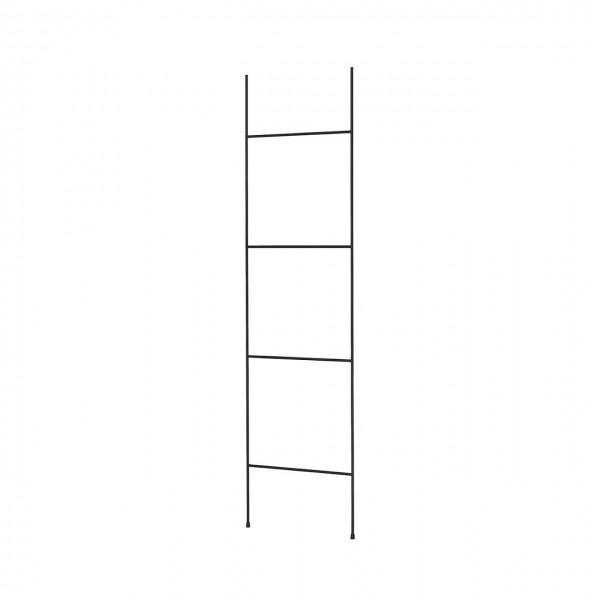 Handtuchleiter FERA schwarz Höhe 165 cm